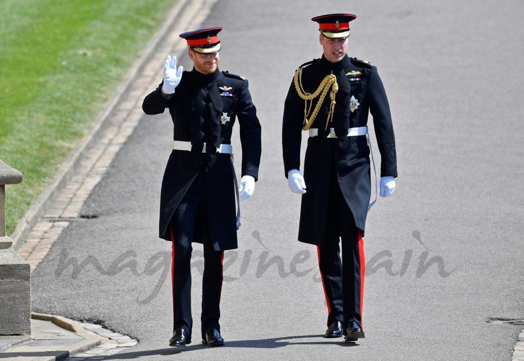 Principe Harry y Guillermo