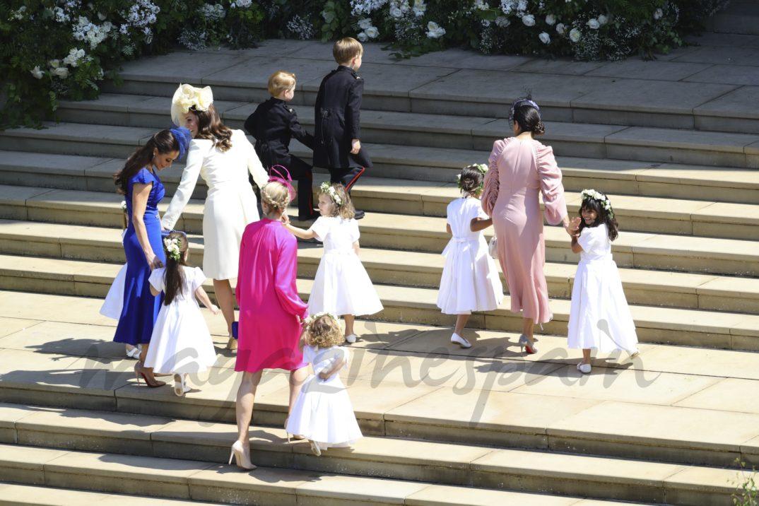 Kate Middleton y pajes