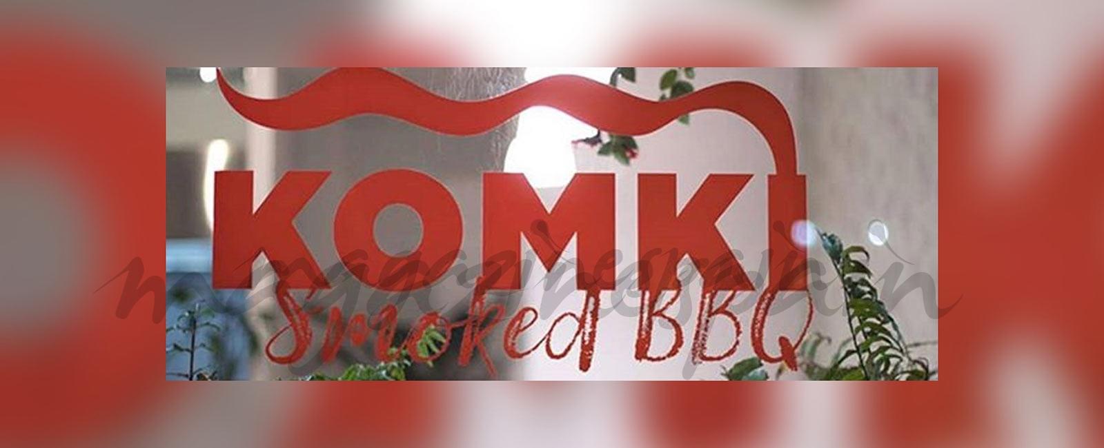 KOMKI Smoked BBQ – A fuego lento todo sabe mejor