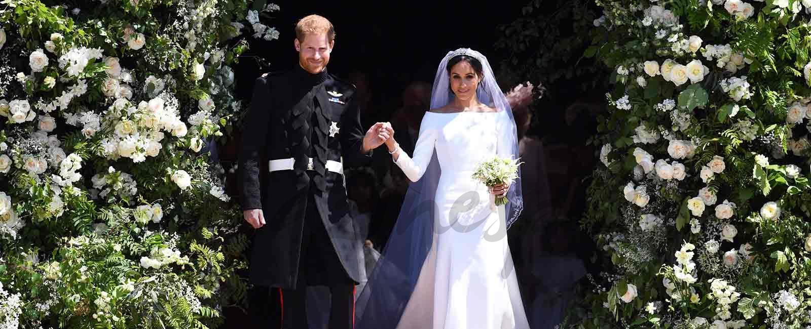 Meghan Markle y el príncipe Harry ya son marido y mujer