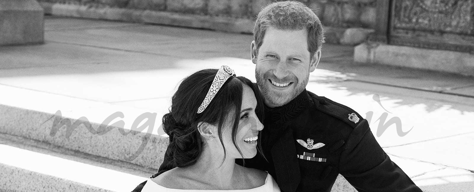 Las fotos oficiales de la boda de Meghan y Harry