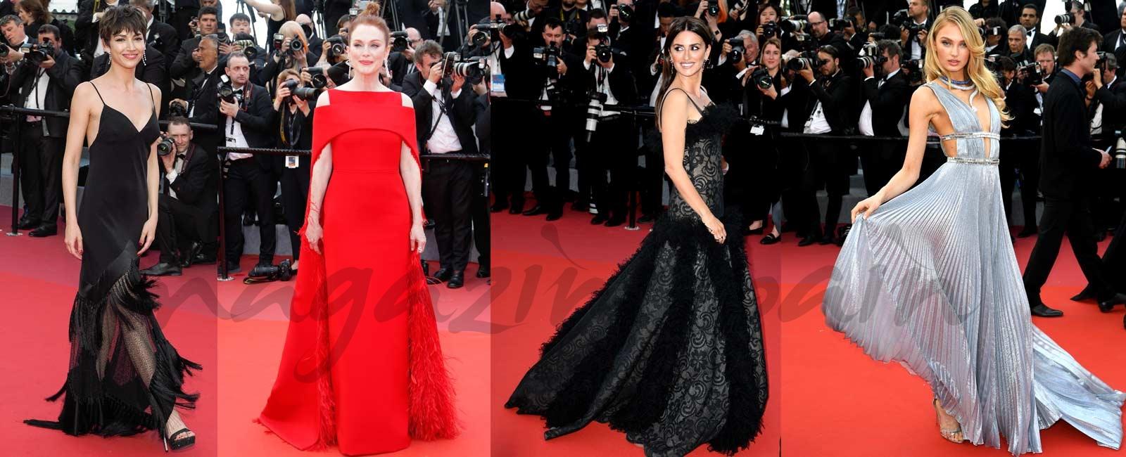 Los mejores looks de la primera alfombra roja de la 71º del Festival de Cine de Cannes
