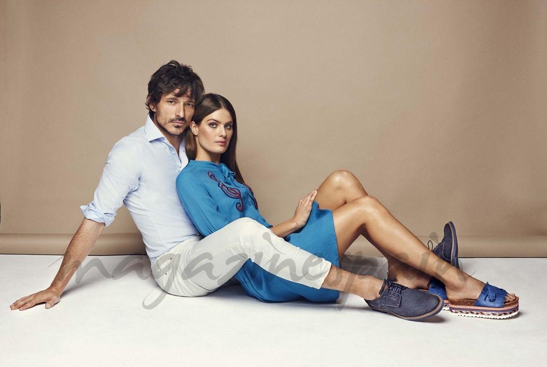 Andrés Velencoso e Isabeli Fontana - Carmela Primavera-Verano 2018