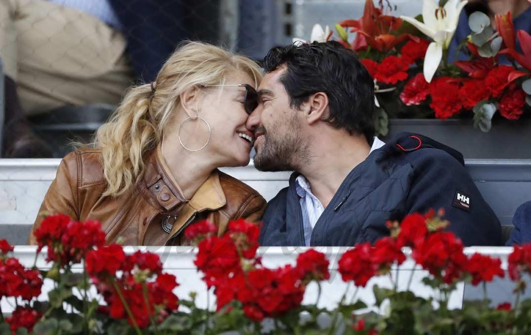 Belén Rueda y su novio Francis Malfatto