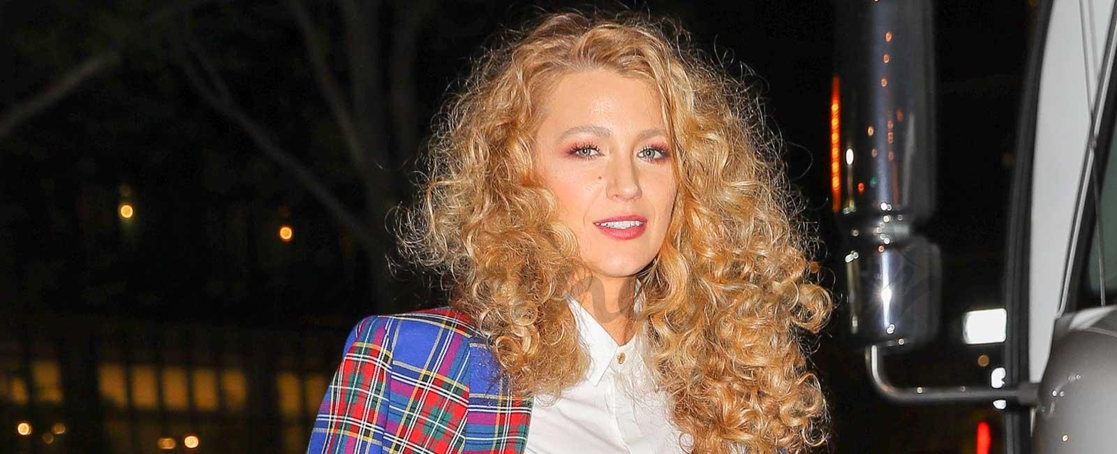 "El impactante look ""escocés"" de Blake Lively"
