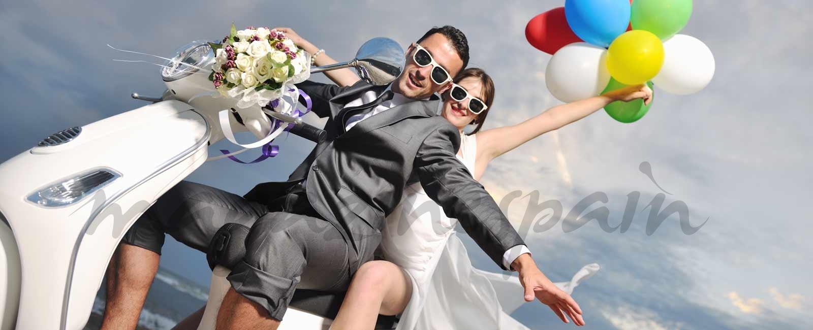 ¿Cuáles son los lugares preferidos para casarse?