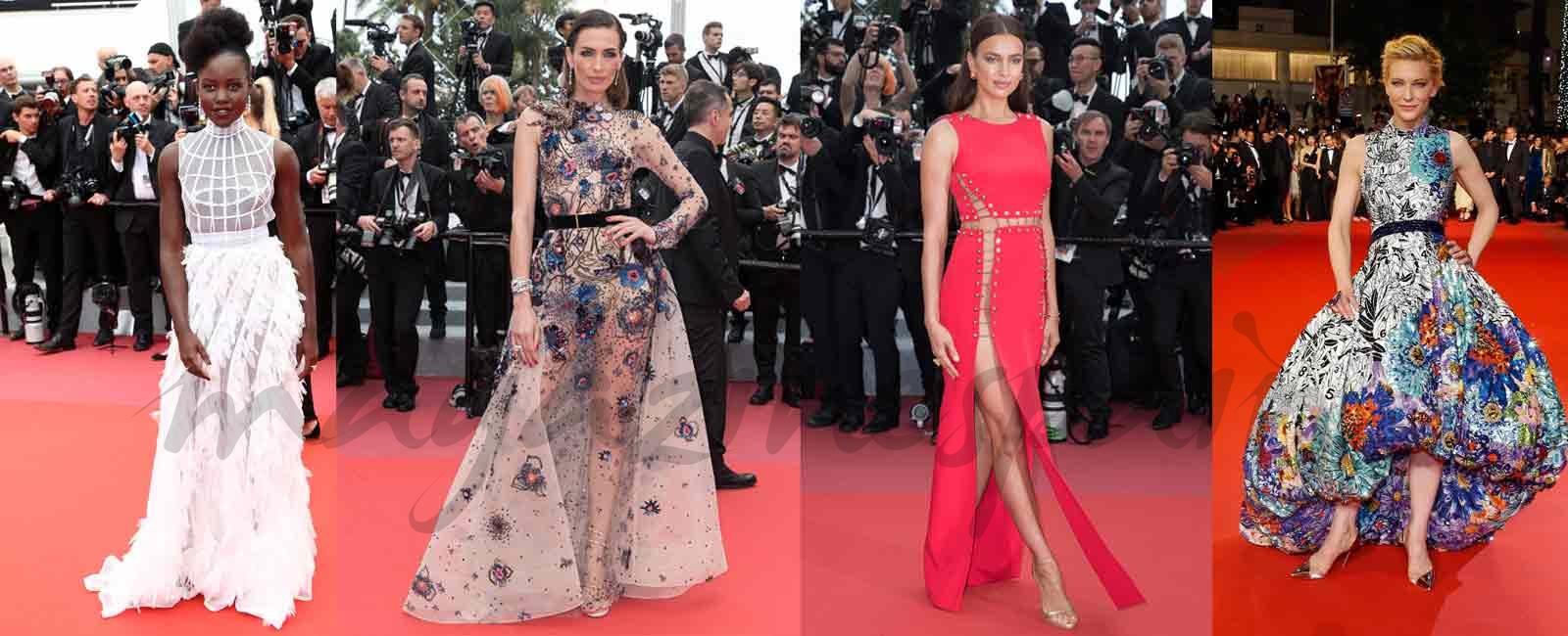 Cannes 2018: Una alfombra roja con mucho glamour