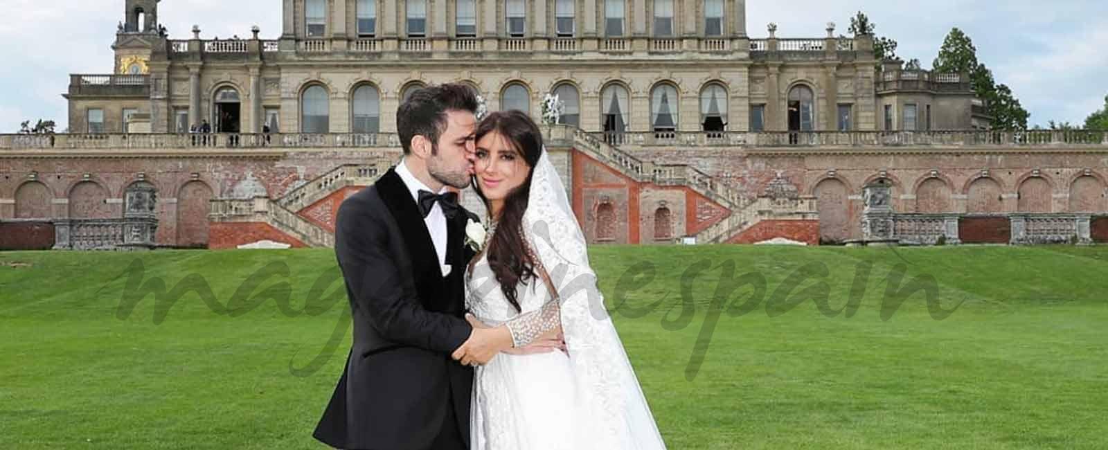 La romántica boda de Cesc Fabregas y Daniella Seeman