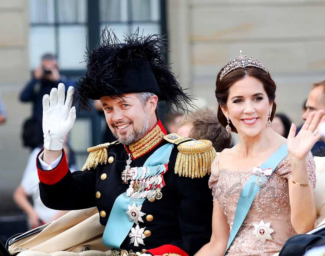 Príncipe Federico y Mary de Dinamarca