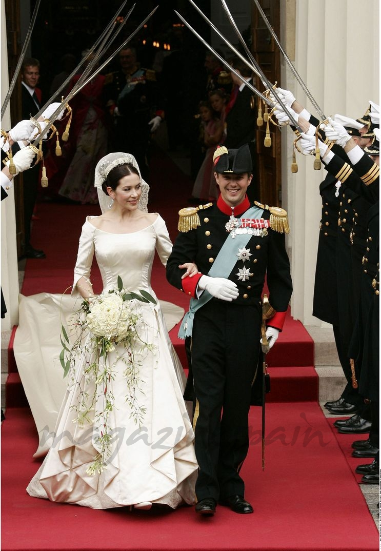 Boda príncipes Federico y Mary de Dinamarca - 14 mayo 2004