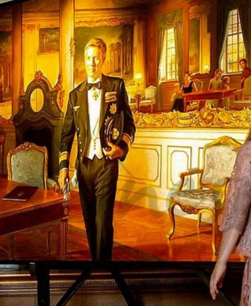 El nuevo retrato de Federico de Dinamarca por su 50 cumpleaños