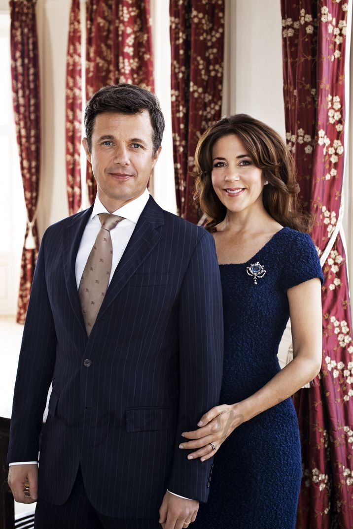 Príncipes Federico y Mary de Dinamarca - Foto Oficial - 2014