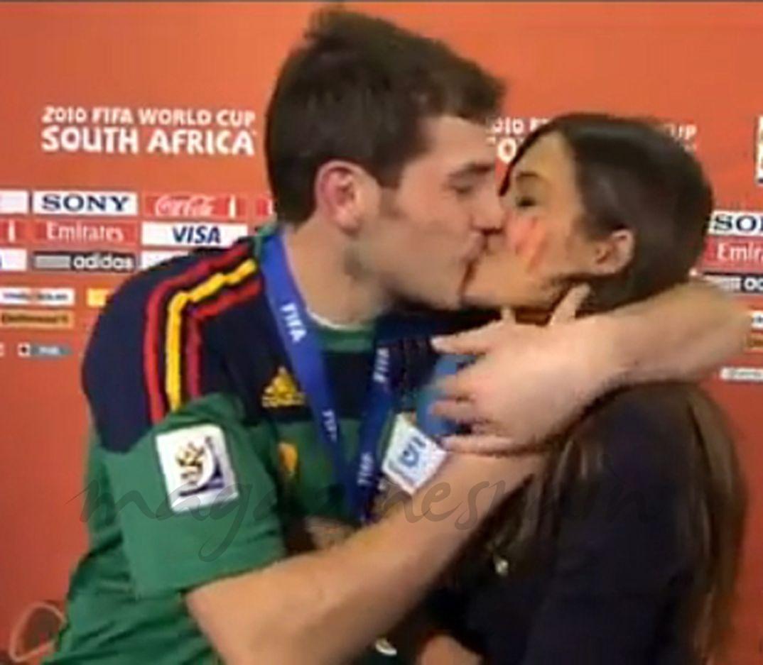 Iker Casillas y Sara Carbonero - Mundial Sudáfrica- 2010
