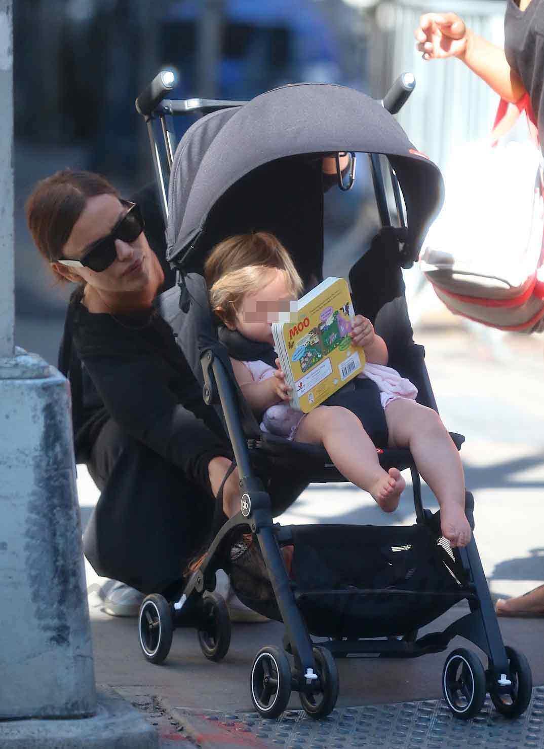 Irina Shayk con su hija Lea