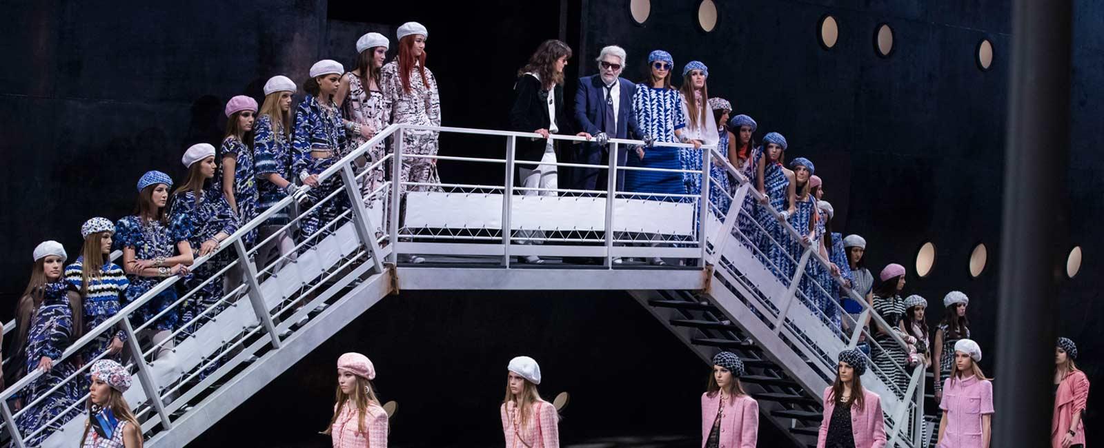 Chanel echa el ancla con su nueva colección crucero