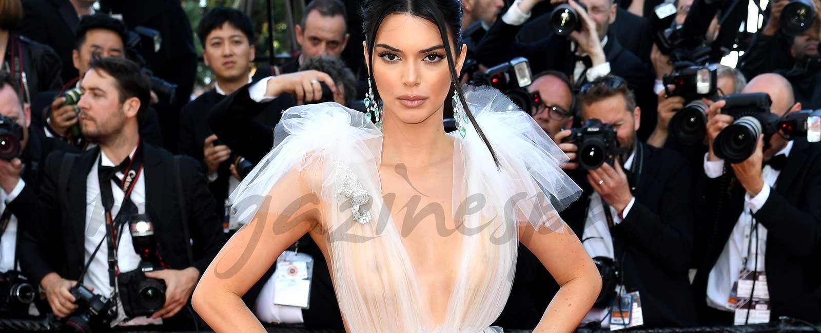 Las transparencias de Kendall Jenner en Cannes