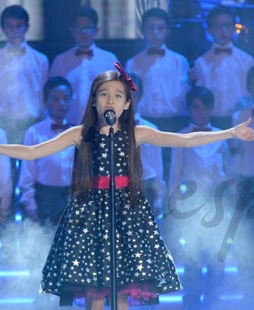 """Melani, con solo 10 años, gana """"La Voz Kids 4"""""""