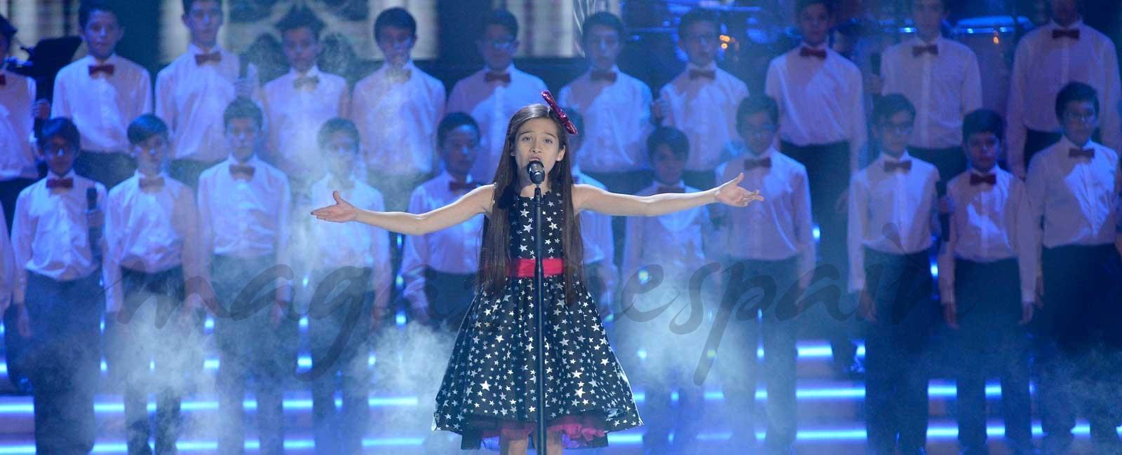 Melani, con solo 10 años, gana «La Voz Kids 4»