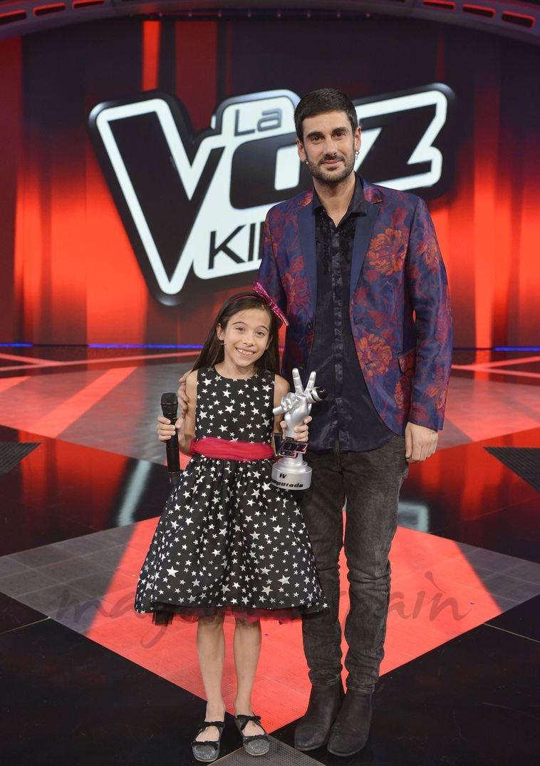Melendi y Melani - La Voz Kids 4 - © Mediaset