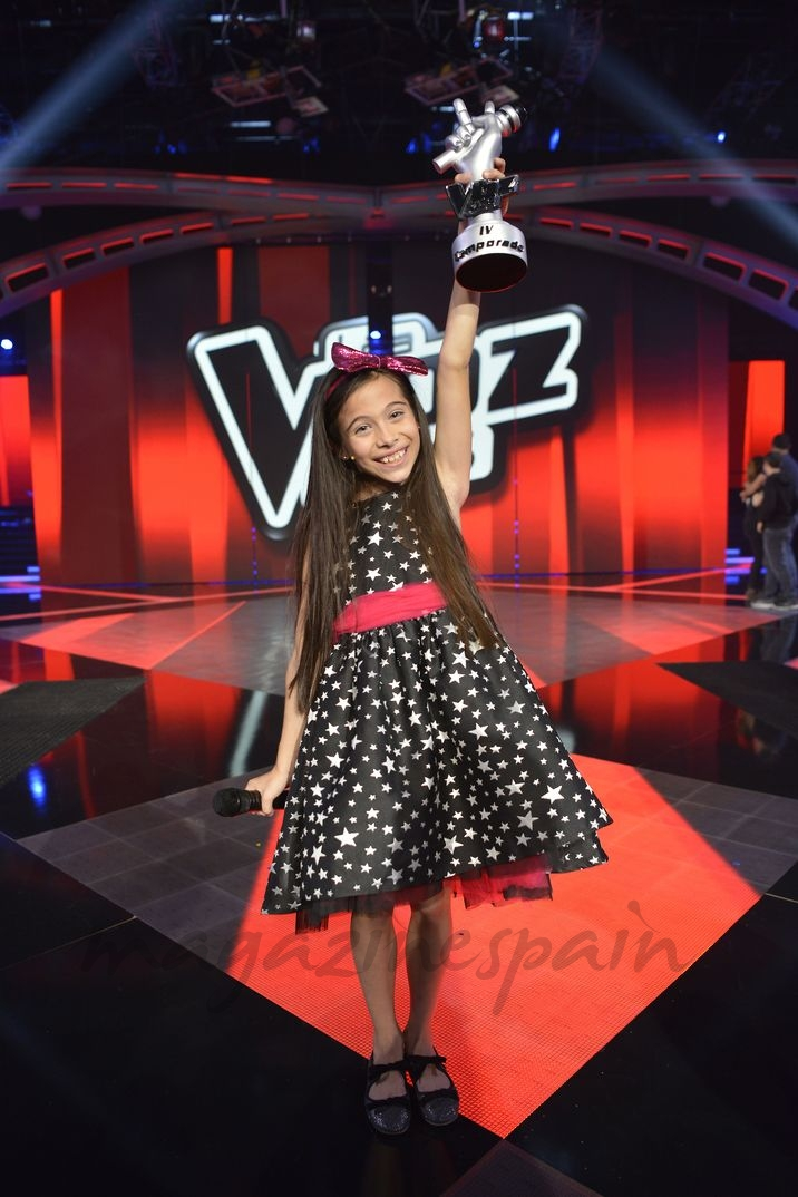 Melani - La Voz Kids 4 © Mediaset