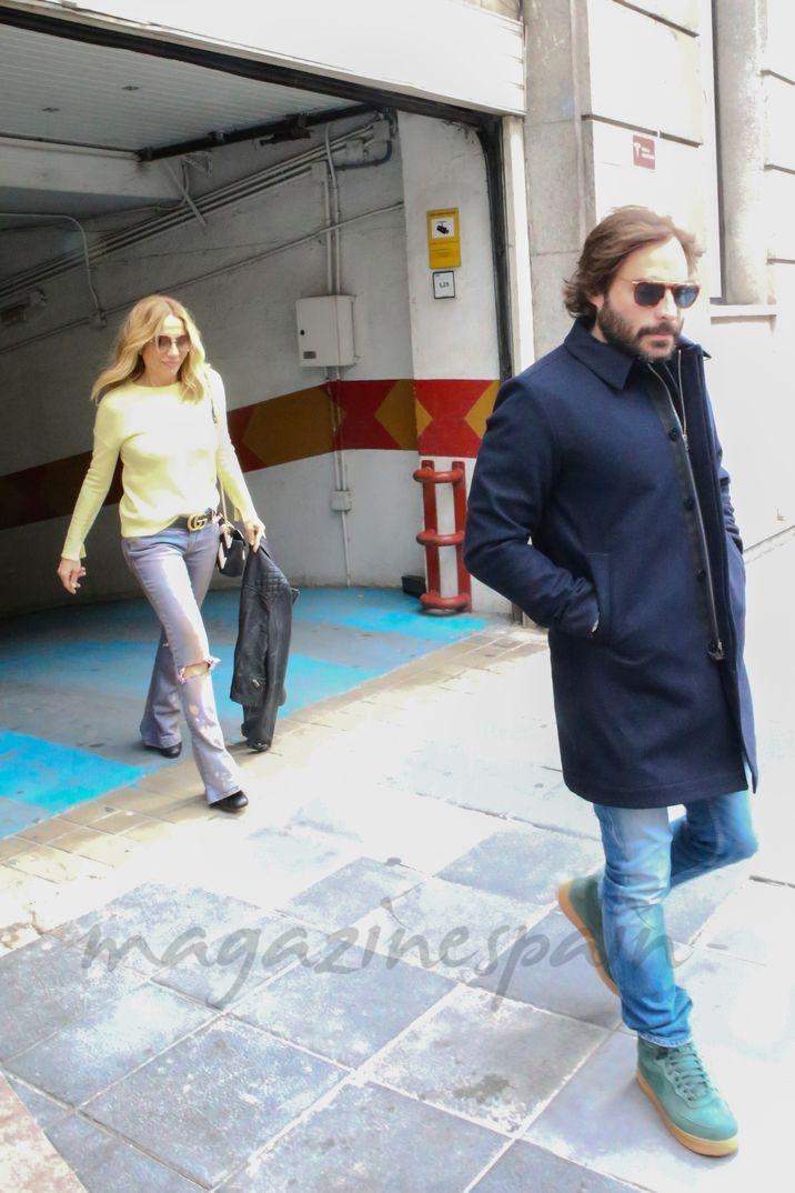 Marta Sánchez con su actual pareja, Alexis Rosenfeld