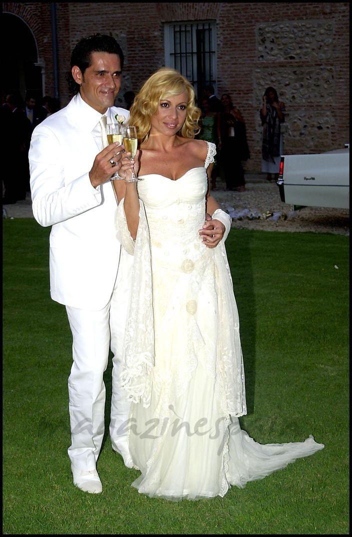 Marta Sánchez boda con Jesús Cábanas - Julio 2002