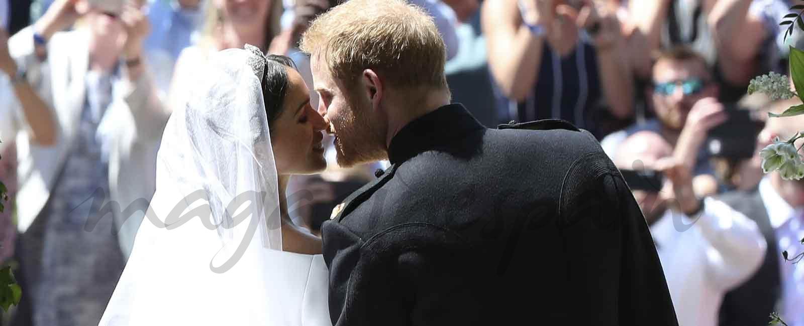 Todos los detalles del magnífico vestido de novia de Meghan Markle