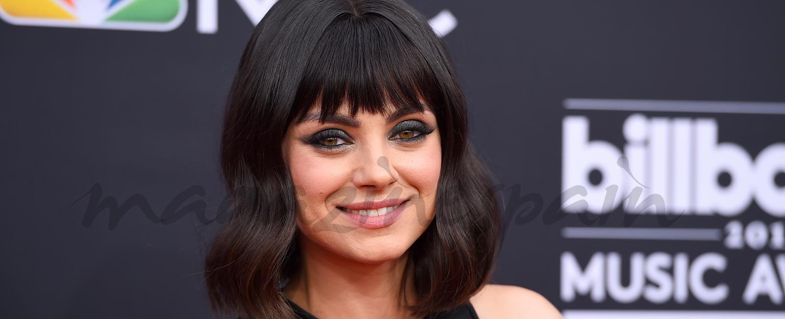 El nuevo flequillo de Mila Kunis