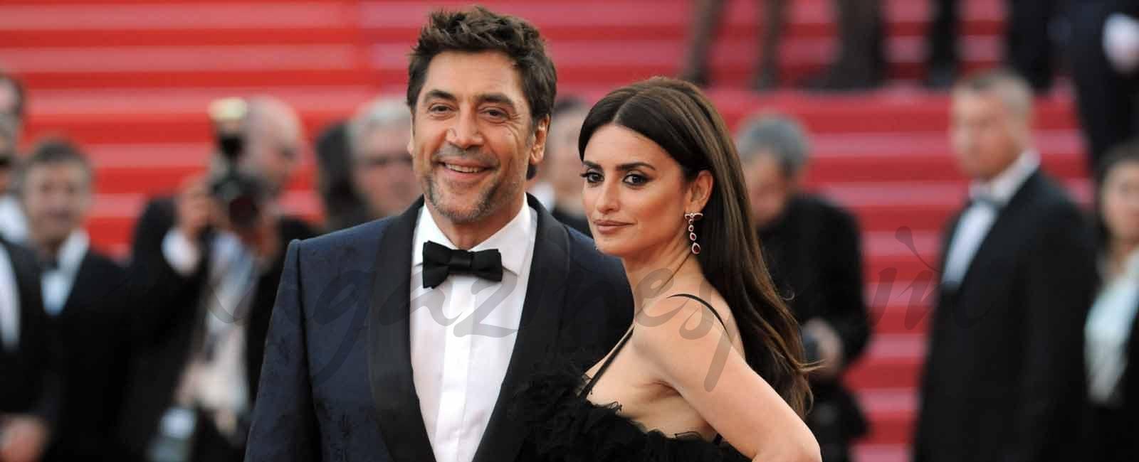 Penélope Cruz y Javier Bardem conquistan la alfombra roja de Cannes