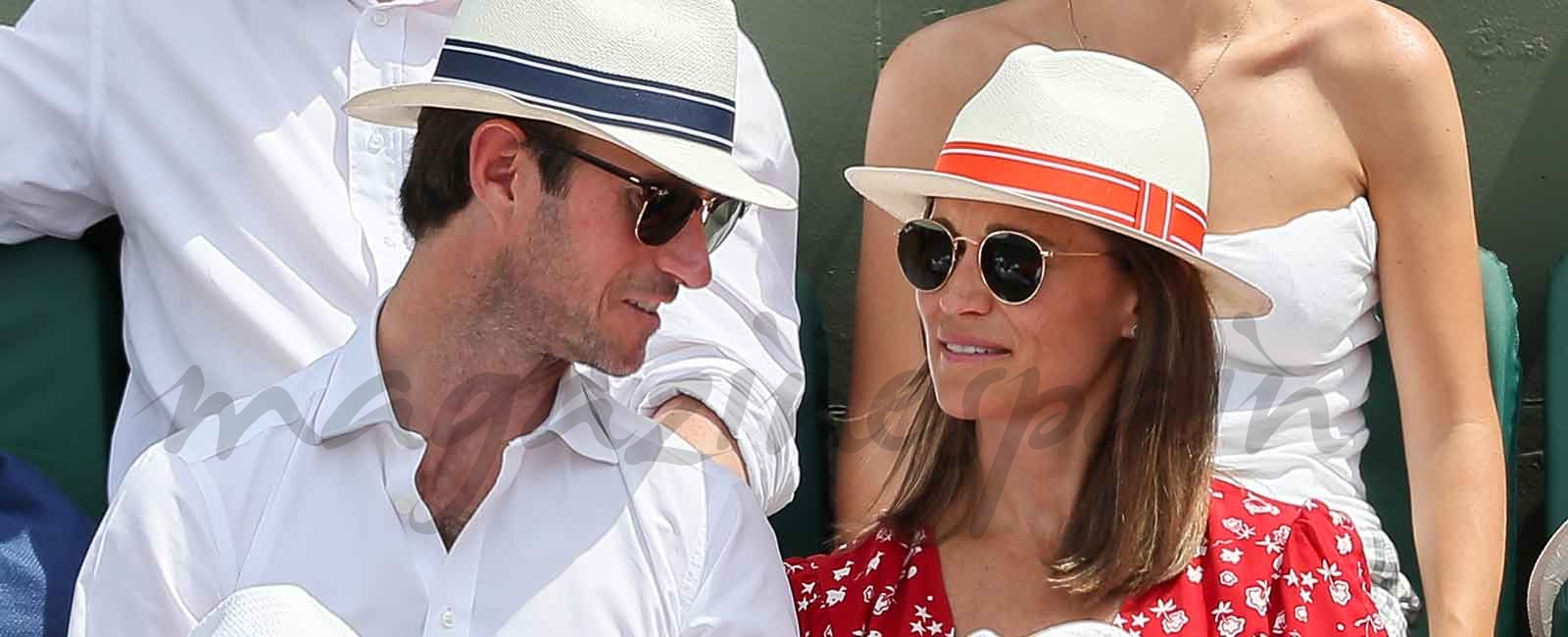 El look «premamá» de Pippa Middleton
