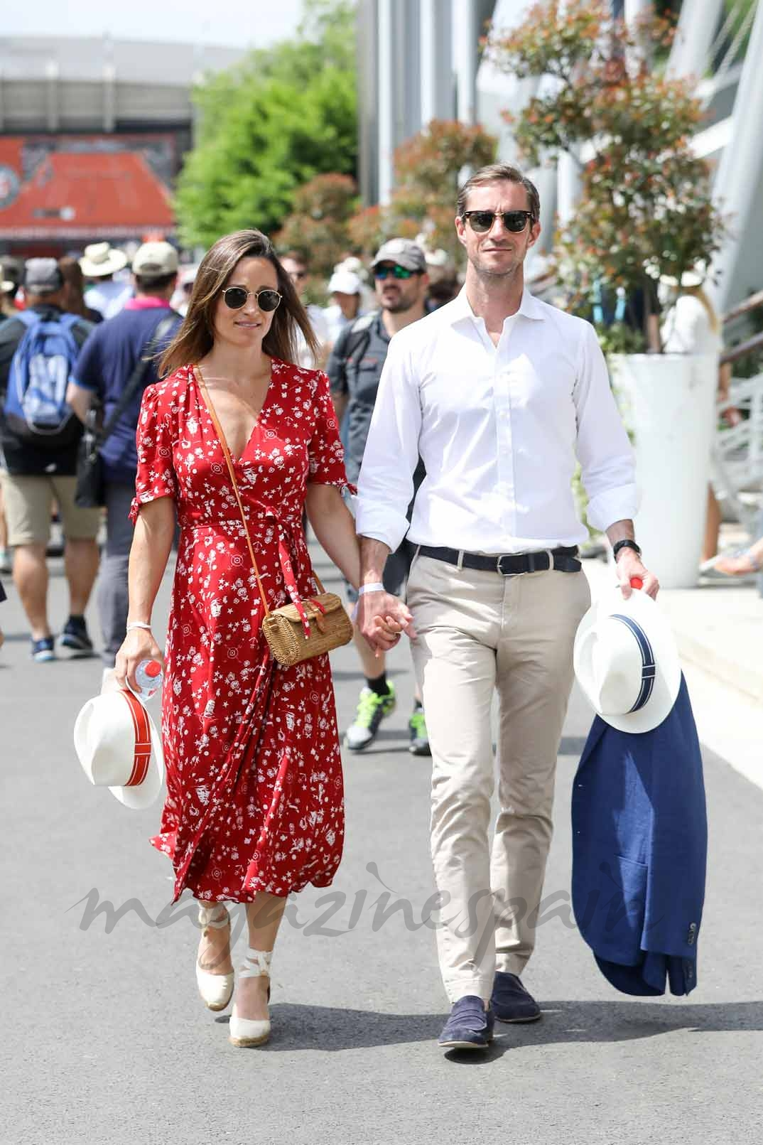 Pippa Middleton y su marido James Matthews