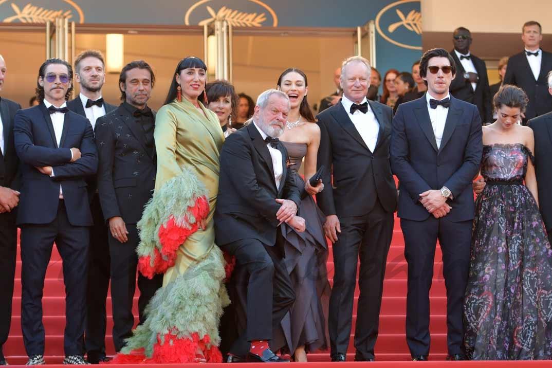 Oscar Jaenada , Jordi Molla, Rossy de Palma, Terry Gilliam, Stellan Skarsgard, Olga Kurylenko, Adam Driver, Joana Ribeiro