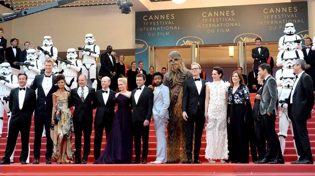 """""""Solo: Una historia de Star Wars"""" - Festival Cannes 2018"""