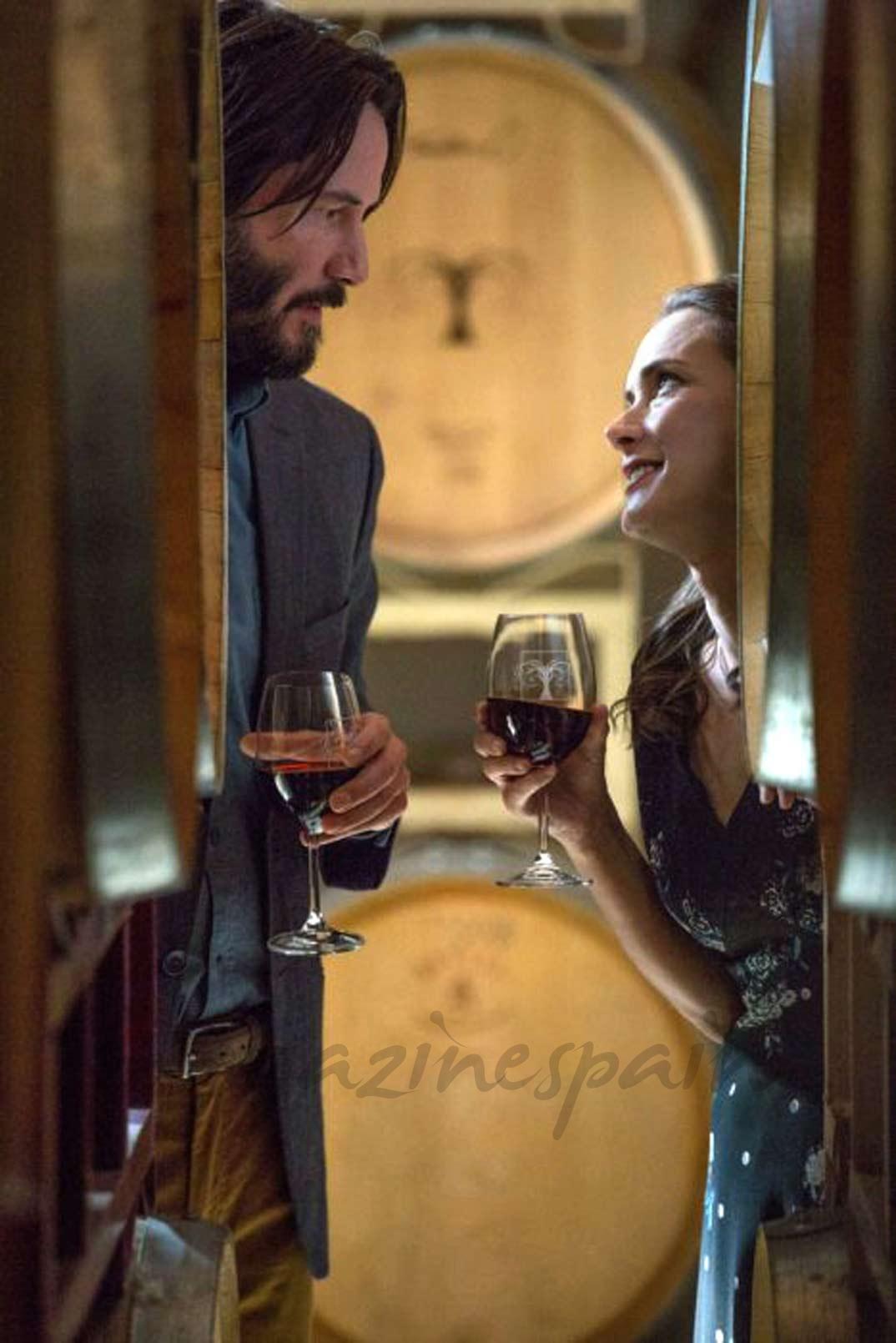 Winona Ryder y Keanu Reeves © D.R