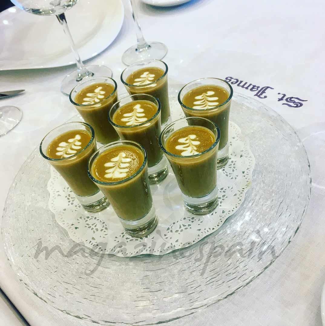 Crema de lenteja de verdina