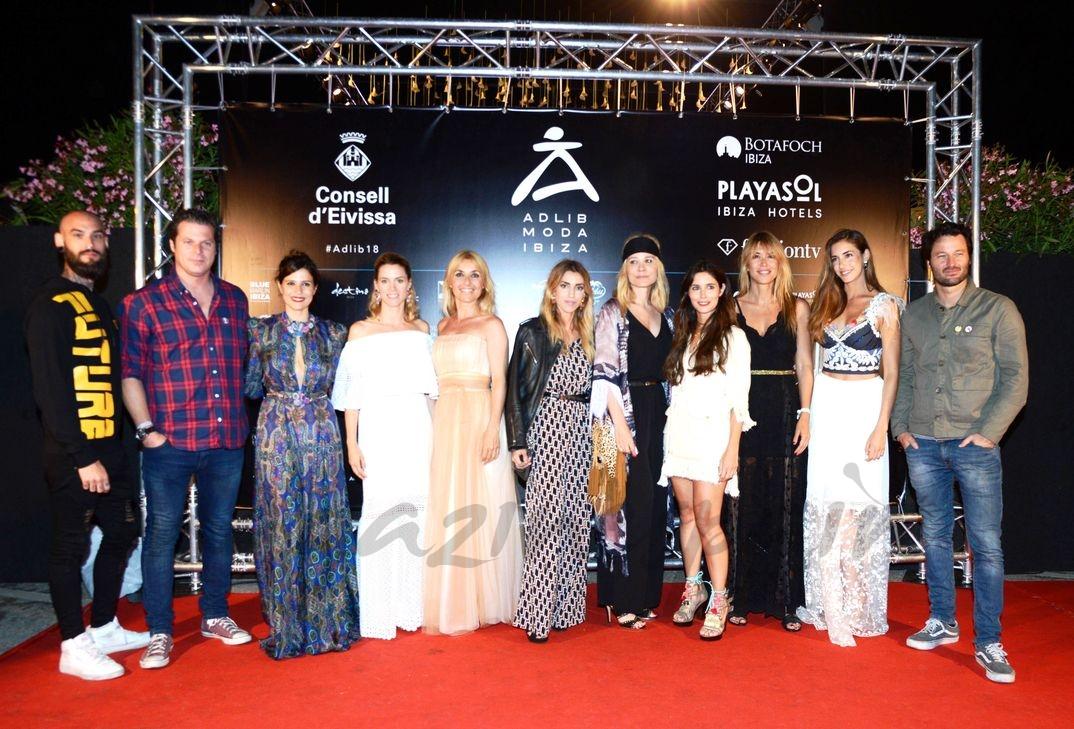 Cayetana Guillén Cuervo en la Pasarela Adlib Moda Ibiza