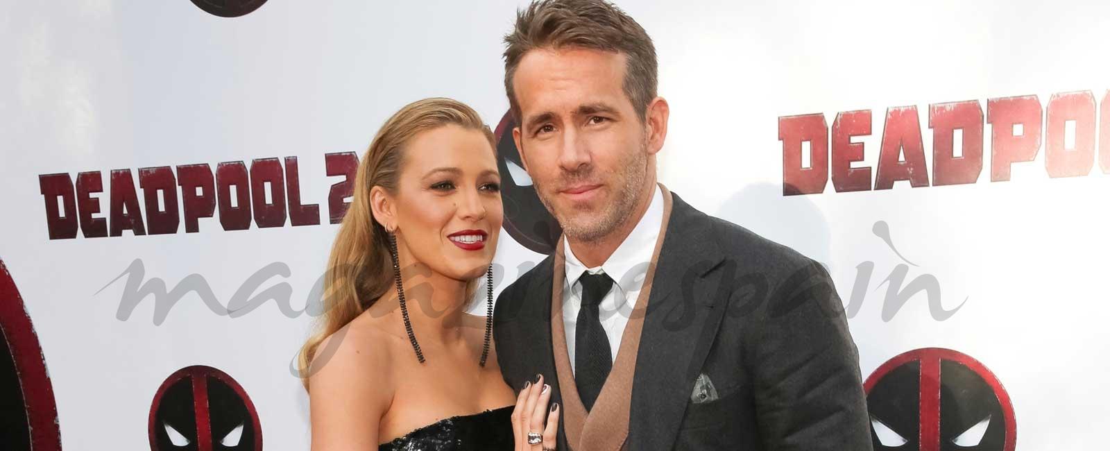Blake Lively y su original forma de decirle a Ryan Reynolds que van a ser papás ¡por tercera vez!