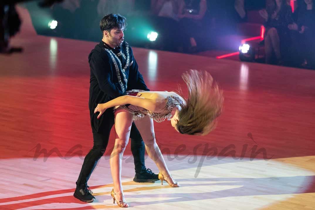 """David Bustamante y Yana Olina en """"Bailando con las estrellas"""""""