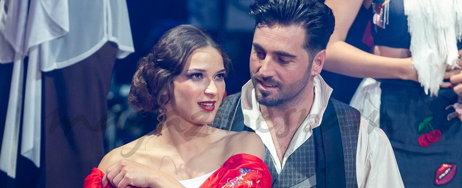 El piropo de David Bustamante a Yana Olina en «Bailando con las estrellas»