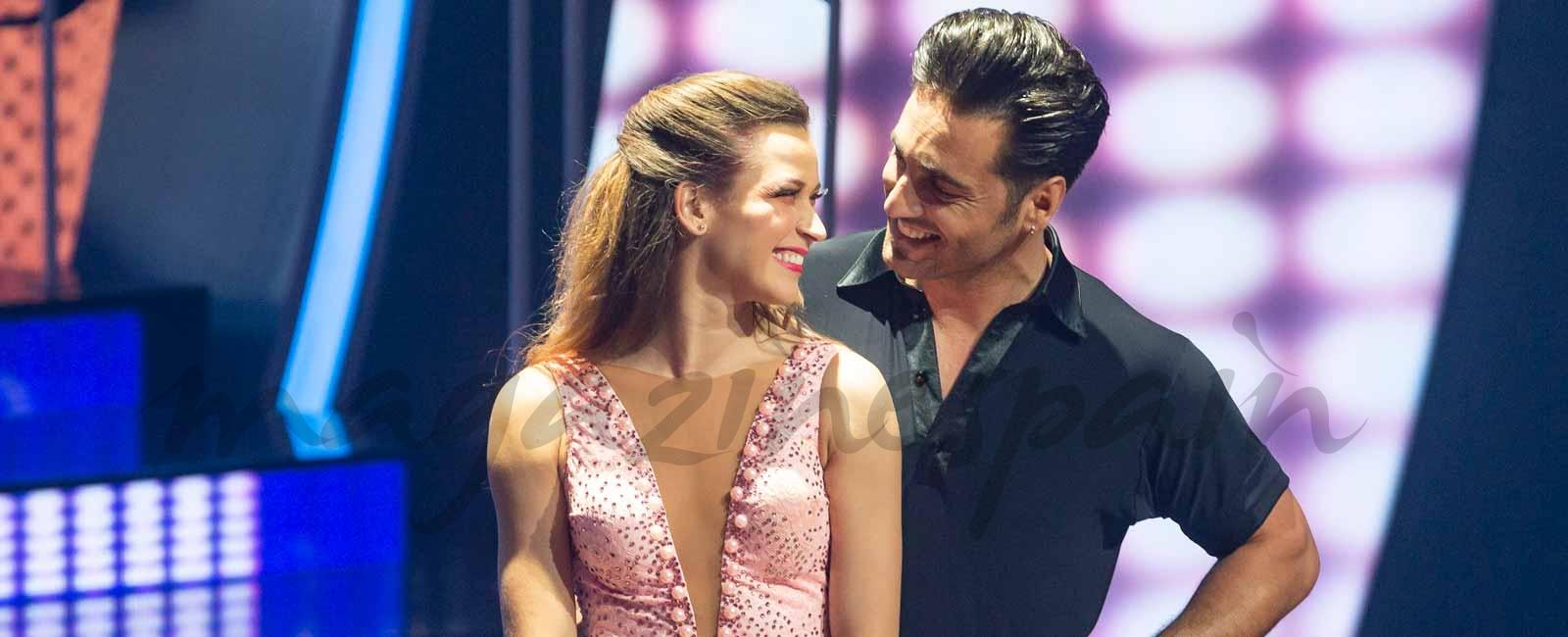 Las románticas imágenes de David Bustamante y Yana Olina a lo «Dirty Dancing»