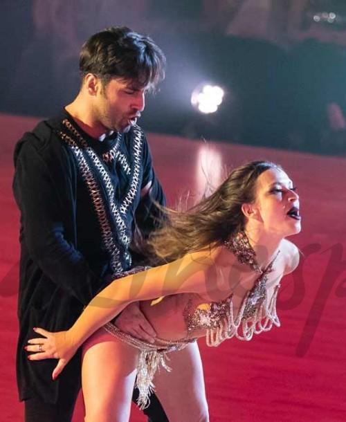 El baile más sexy de David Bustamante y Yana Olina