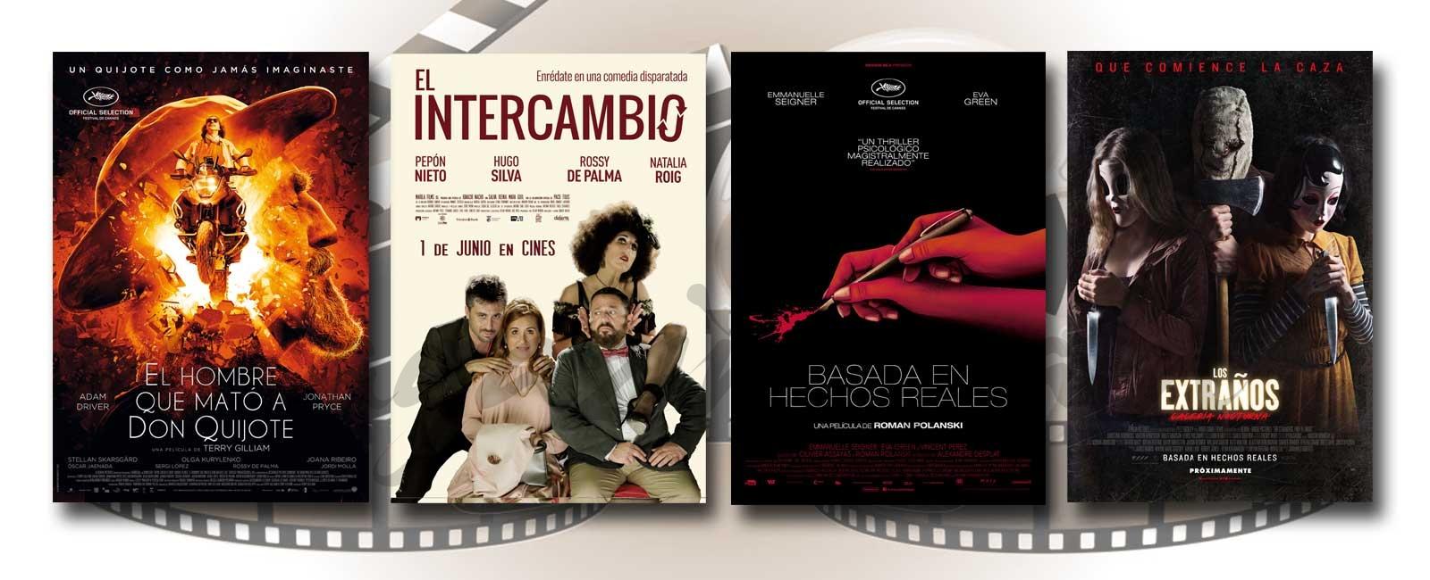 Estrenos de Cine de la Semana… 1 de Junio 2018