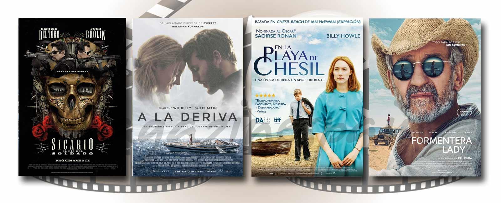 Estrenos de Cine de la Semana… 29 de Junio 2018