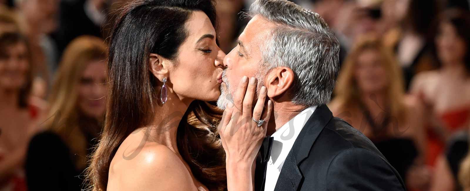 La emoción de George Clooney ante las palabras de amor de su esposa, Amal