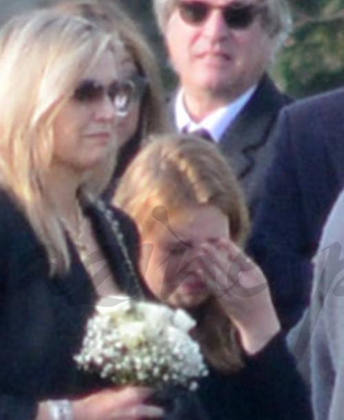 La reina Máxima en el último adiós a su hermana pequeña