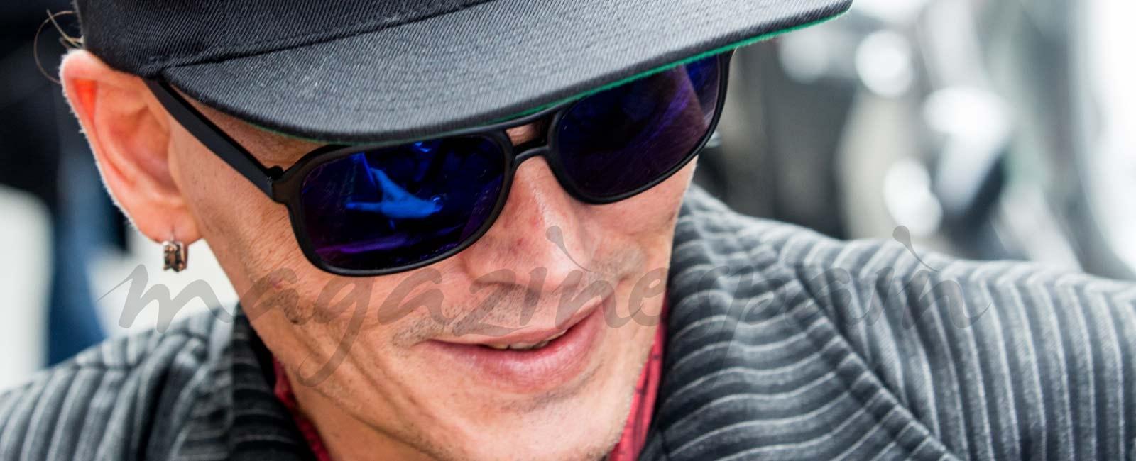 El alarmante aspecto de Johnny Depp