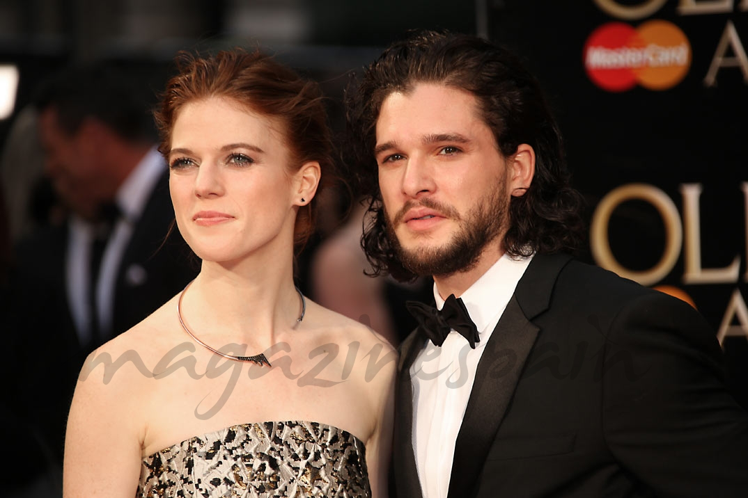 Kit Harington y Rose Leslie