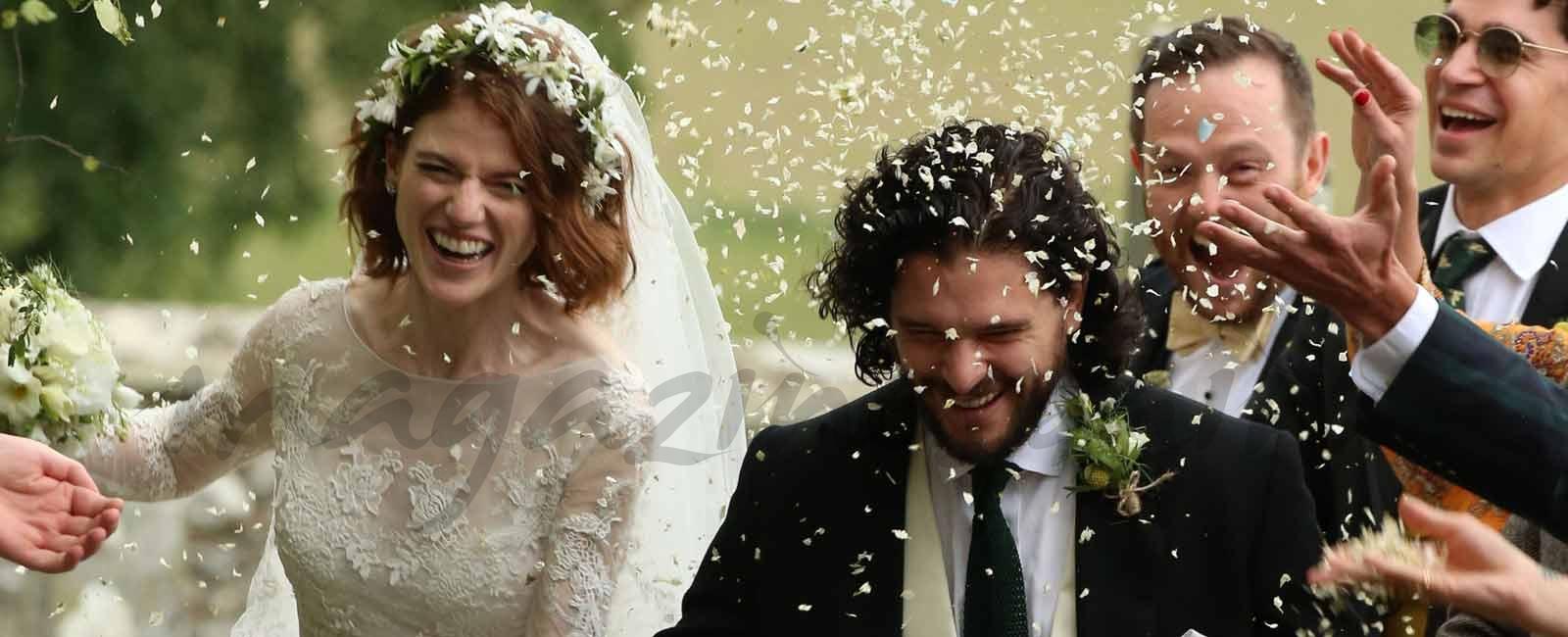 La romántica boda de Kit Harington y Rose Leslie