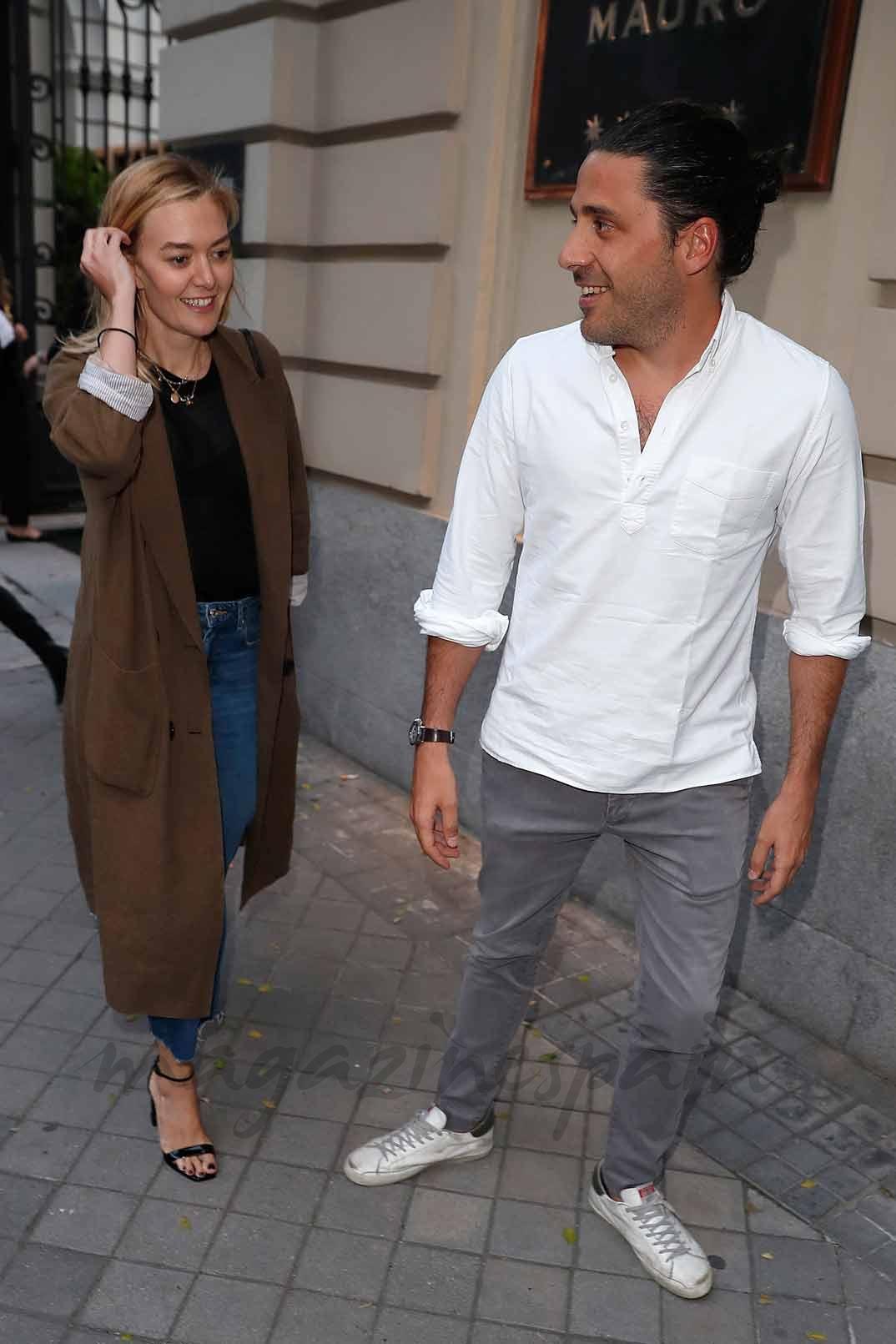 Marta Ortega y Carlos Torretta
