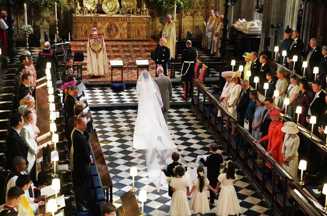 Meghan Markle y el príncipe Carlos